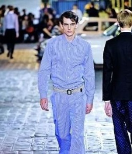 %Men clothes Blue Men Cothings in 2011 spring and summer