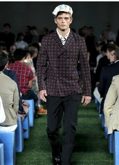 %Men clothes PRADA 2012 milan spring show