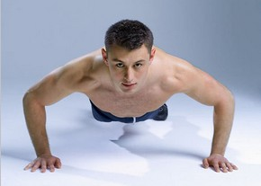 %Men clothes Men often do push ups have all kinds of benefits