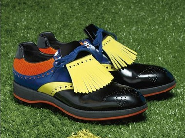 %Men clothes prada men golf shoes