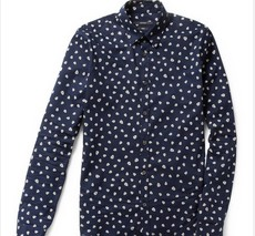%Men clothes Spring summer flower shirts