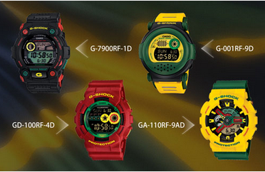 %Men clothes Jamaica incoming G SHOCK passion vigor grab eye
