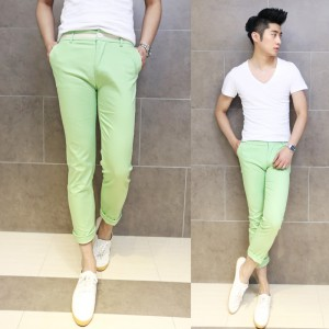 %Men clothes Youthful & Fresh :The Minimalist Men Costume Matching in Summer